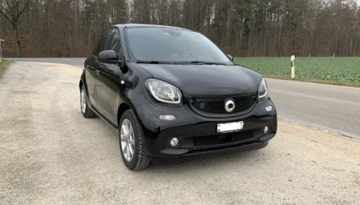 Going electric – zum zweiten: Smart forfour EQ