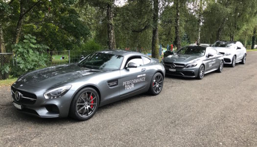 Mercedes: AMG Performance Tour 2016 (Schweiz)
